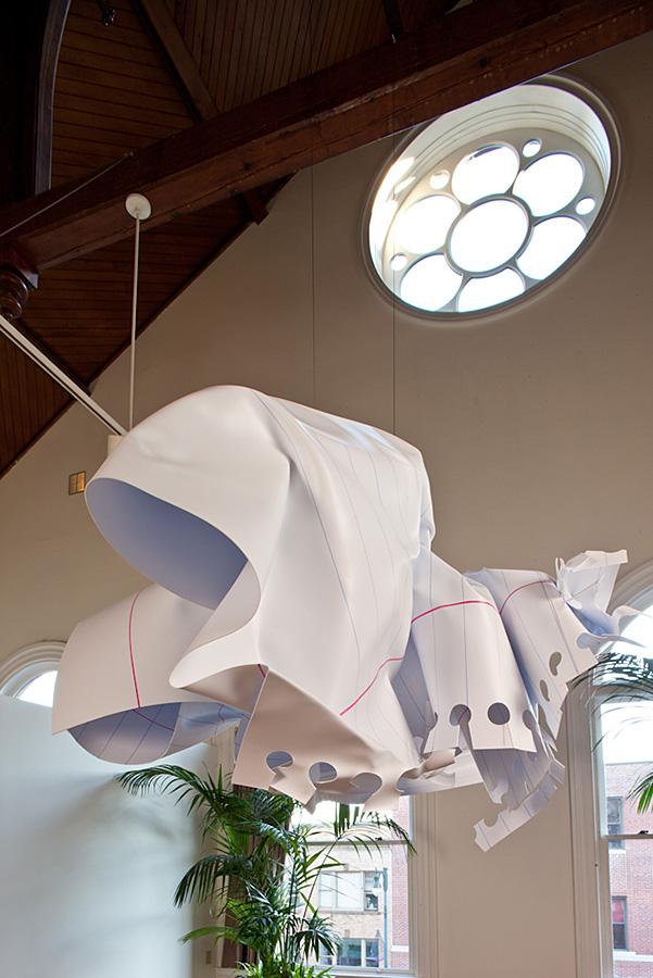crumple white pendant lamp lighting. Crumpled Paper Sculpture Crumple White Pendant Lamp Lighting