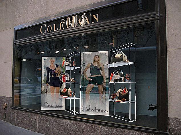 Cole Haan Window Display Mark White Inc